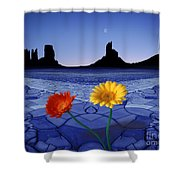 Colors In The Valley Shower Curtain