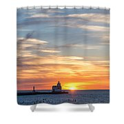 Colors Of Calm Shower Curtain