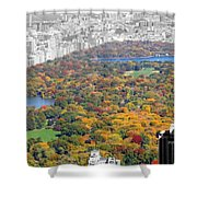 Colors Of Central Park Shower Curtain
