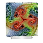 Colors Of Delight Shower Curtain