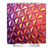 Colors Of Epcot Shower Curtain