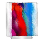 Colors Of Erotic 2 Shower Curtain