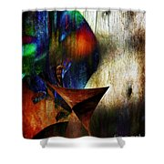 Colors Of Eve Shower Curtain
