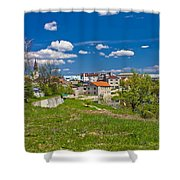 Colors Of Gospic Capital Of Lika Shower Curtain