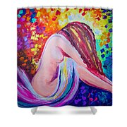 Colors Of Hope Shower Curtain