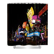 Colors Of Las Vegas Shower Curtain