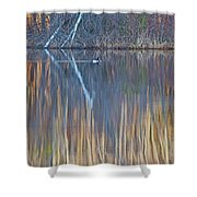 Colors Of March Shower Curtain