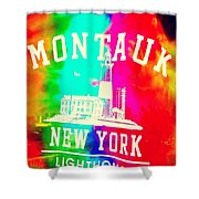 Colors Of Montauk Shower Curtain