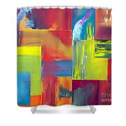 Colors Of Mother Earth Shower Curtain