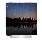 Colors Of Night Shower Curtain