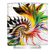 Colors Of Passion Shower Curtain