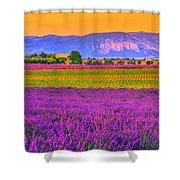 Colors Of Provence Shower Curtain
