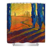 Colors Of Summer 2 Shower Curtain