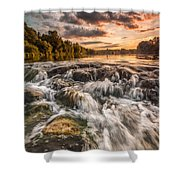 Colors Of Summer Shower Curtain by Davorin Mance