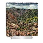 Colors Of The Black Canyon Shower Curtain