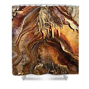 Colors Of The Ohio Caverns Shower Curtain