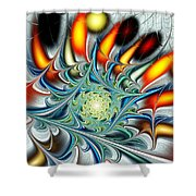 Colors Of The Spirit Shower Curtain by Anastasiya Malakhova
