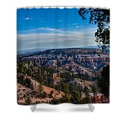 Colors Of Time Shower Curtain