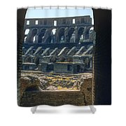 Colosseum Arch Shower Curtain