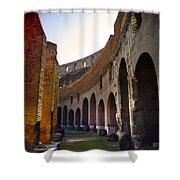 Colosseum Interior Shower Curtain