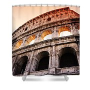 Colosseum Italy Shower Curtain