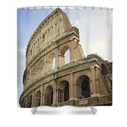 Colosseum Rome, Italy Shower Curtain by Allyson Scott