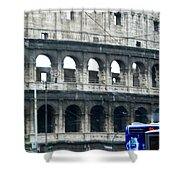 Colosseum Two Shower Curtain