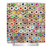 Colour 4 Shower Curtain
