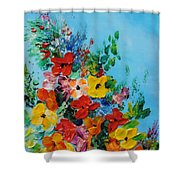 Colour Of Spring Shower Curtain