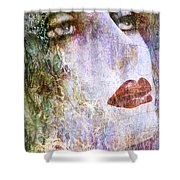 Coloured Woman Shower Curtain