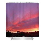 Colourful Arizona Sunset Shower Curtain