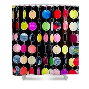 Colourful Circles Shower Curtain