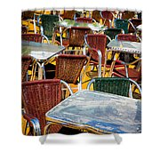 Colourful Confusion Shower Curtain