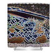 Colourful Crab Shower Curtain