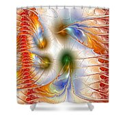 Colourful Emotions Shower Curtain