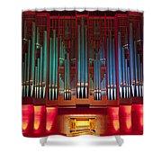 Colourful Organ Shower Curtain