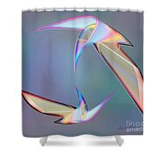 Colourful Plumage  2 Shower Curtain