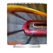 Colourful Rush Shower Curtain