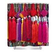 Colourful Souvenirs In China Shower Curtain