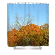 Colourful Time Shower Curtain