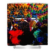 Colours De Nola 2 Shower Curtain