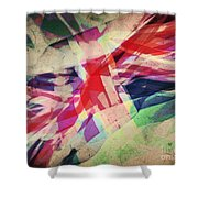 Colours Of A Kingdom Shower Curtain