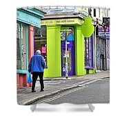 Colours Of Brighton Shower Curtain