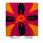 Colours Of India Shower Curtain