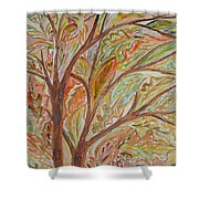 Colours Of Season Shower Curtain
