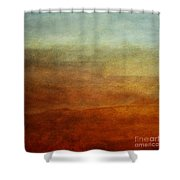 Colours Of The Fall Shower Curtain by Priska Wettstein