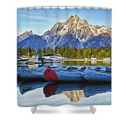Colter Bay Shower Curtain