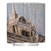 Columbia Courthouse On A Clear Day Shower Curtain