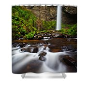 Columbia Gorge Richness Shower Curtain