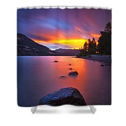 Columbia Morning Fire Shower Curtain